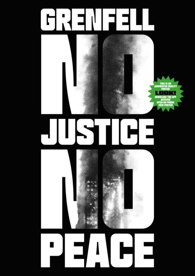 Grenfell No Justice No Peace Poster